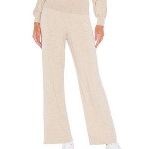 Splendid Super Soft Lounge Pant Foldover Waist Rib